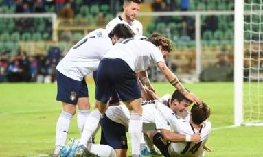 Danes, Swiss through to Euro 2020 as rampant Italy hit nine