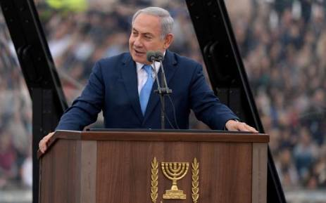 Israeli Prime Minister Benjamin Netanyahu. Picture: @IsraeliPM/Twitter.