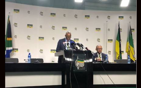 FILE: ANC's Ace Magashule at a media briefing at Luthuli House on 29 May 2018. Picture: EWN