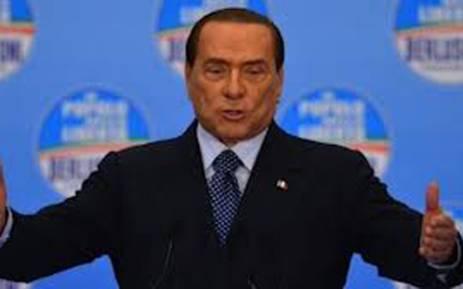 Former Italy Prime Minister, Silvio Berlusconi. Picture: AFP.