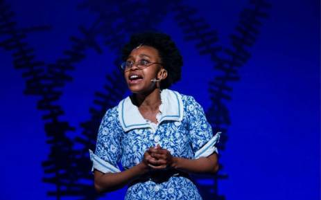Didintle Khunou on 'The Colour Purple' at the Joburg Theatre. Picture: Supplied.