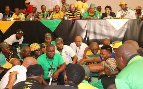 ANC delegates attend the Free State provincial general council in Parys on 28 November 2017. Picture: @ANCFS/Twitter