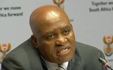 FILE: Former Hawks Major General Berning Ntlemeza. Picture: YouTube.