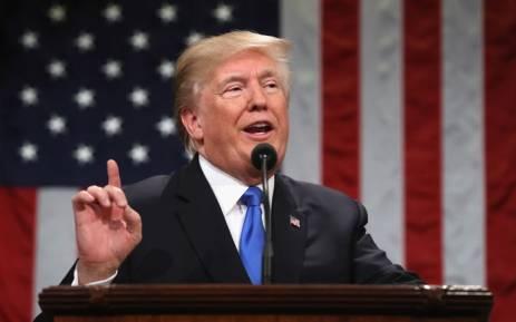 US President Donald Trump. Picture: AFP