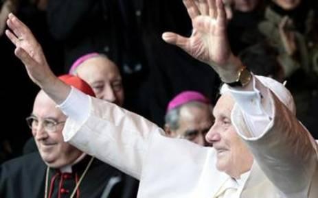 Pope Benedict XVI. Picture: AFP