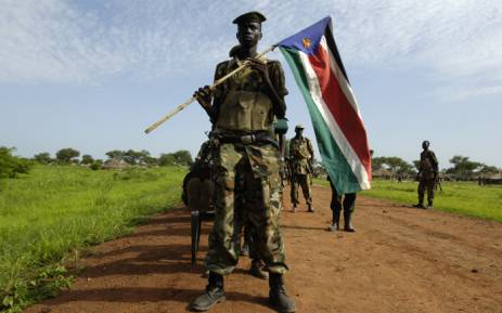 Soldiers of the Sudanese People's Liberation Army (SPLA). Picture: United Nations Photo.