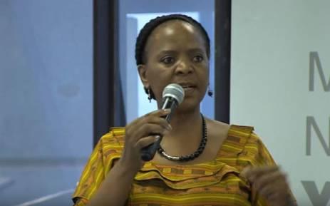 FILE: Gauteng Social Development MEC Nandi Mayathula-Khoza. Picture: YouTube screengrab.
