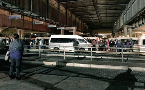 The Khwela app will assist commuters by giving them the information of their nearest taxi rank, current taxi prices, taxi routes and help them understand the taxi rank networks. Picture: Cindy Archillies/EWN