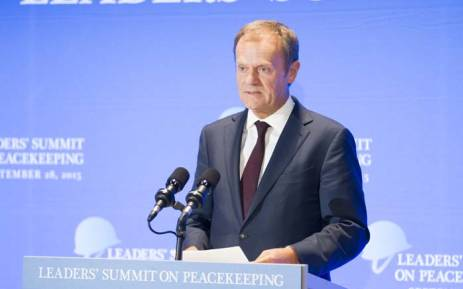 European Union Council President Donald Tusk. Picture: United Nations Photo.