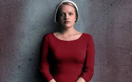 Elizabeth Moss stars in 'The Handmaid's Tale'. Picture: Hulu