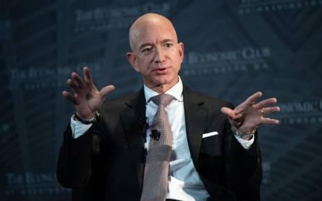 Jeff Bezos. Picture: AFP