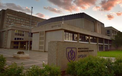 FILE: The Health Sciences faculty at the University of the Free State (UFS). Picture: @UFSweb/Twitter