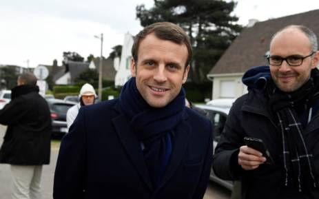 French President Emmanuel Macron. Picture: AFP.