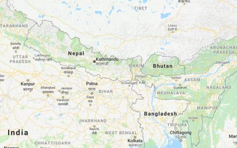 Alert bangladesh plane carrying 71 people crashes in nepal a screengrab of nepal picture google maps gumiabroncs Image collections