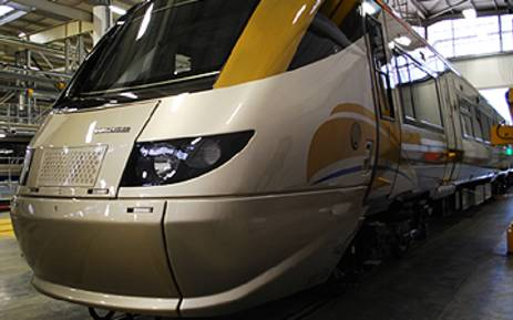 FILE: A Gautrain coach parked at the Midrand Depot. Picture: EWN