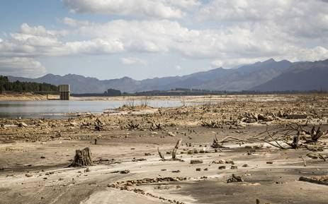 FILE: This file photo shows the Theewaterskloof Dam near Cape Town on 6 May 2016. Picture: Aletta Harrison/EWN.