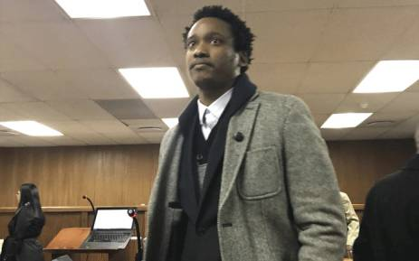 Duduzane Zuma appears in the Commercial Crimes Court on 9 July 2018. Picture: EWN.