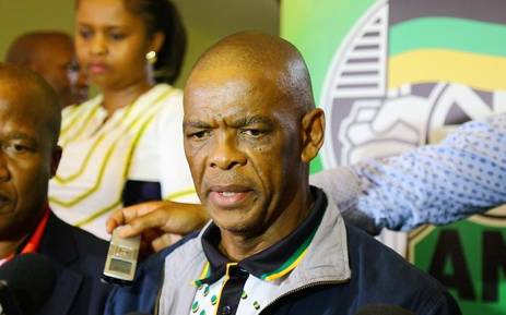 FILE: ANC secretary-general Ace Magashule briefs the media after an ANC parliamentary caucus meeting on 8 February 2018. Picture: Christa Eybers/EWN