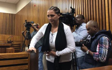Convicted racist Vicki Momberg appears in the Randburg magistrates court on 4 April 2018. Picture: Mia Lindeque/EWN