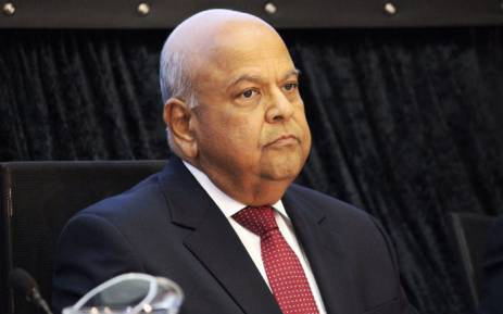 Finance Minister Pravin Gordhan at the Sars briefing on 01 April 2016. Picture: Christa Eybers/EWN