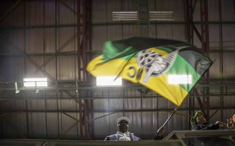 FILE: ANC members and supporters wave flags. Thomas Holder/EWN.
