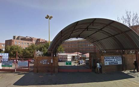 Rahima Moosa Mother & Child Hospital in Coronationville, Johannesburg. Picture: Google Earth.