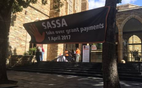 "Black Sash has started a campaign called ""Hands Off Our Grants"" (HOOG) which calls for several actions from Sassa. Picture: Monique Mortlock/EWN."