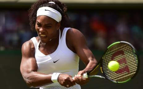 FILE: US player Serena Williams. Picture: AFP.