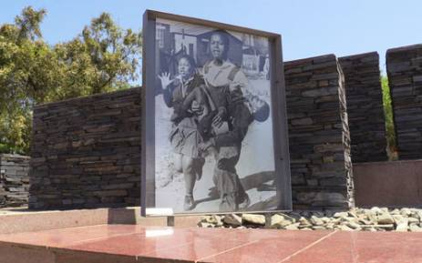 FILE: The iconic photograph taken of Hector Pieterson, who was killed during the Soweto uprising in 1976, displayed at the Hector Pieterson museum in Soweto. Picture: Reinart Toerien.