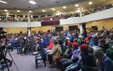 The last public hearing on the possible amendment of Section 25 of the Constitution with regards to land expropriation without compensation took place in Goodwood, Cape Town. Picture: @FloydShivambu/Twitter