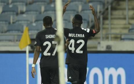 Orlando Pirates players celebrate a goal. Picture: Twitter/@orlandopirates