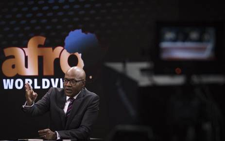 FILE: Businessman Mzwanele Manyi announces three new shareholders at the Afro World View studios in Midrand on 5 June 2018. Picture: Sethembiso Zulu/EWN