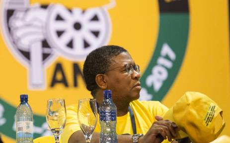 FILE: ANC member Fikile Mbalula at the 54th national conference on 18 December 2017. Picture: Sethembiso Zulu/EWN.