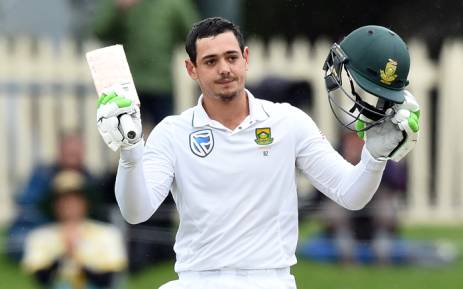 FILE: South Africa's batsman Quinton de Kock. Picture: AFP.