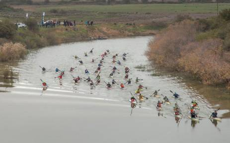 Participants in the Berg River Canoe Marathon. Picture: @BergRiverCanoe/Twitter