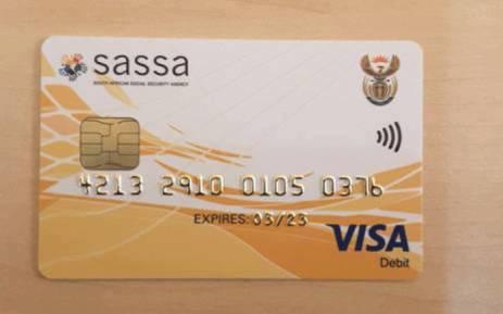 New Sassa cards. Picture: OfficialSASSA/Twitter