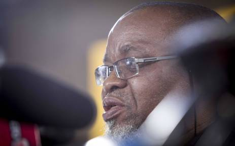 FILE: Mineral Resources Minister Gwede Mantashe. Picture: Thomas Holder/EWN.