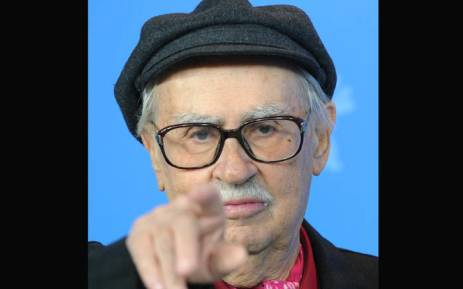 """In this file photo taken on 11 February 2012 Italian director Vittorio Taviani gestures during a press conference for the film """"Ceasar Must Die"""" (Cesare Deve Morire) during the 62nd Berlinale, the major European film festival in Berlin. Picture: AFP"""