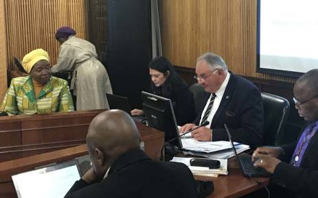 Inter-ministerial task team led by Minister Nkosazana Dlamini Zuma briefing the NCOP's ad hoc committee for the first time on 14 June 2018 since the North West was placed under administration. Picture: Lindsay Dentlinger/EWN