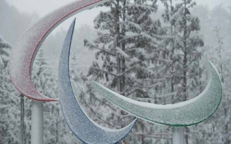 The Paralympic symbols (The Agitos). Picture: @OISphotos/Twitter.