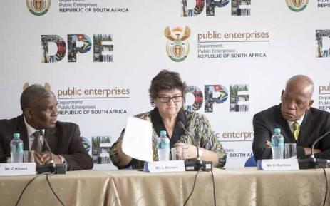 FILE: Former Public Enterprises Minister Lynne Brown. Picture: Thomas Holder/EWN