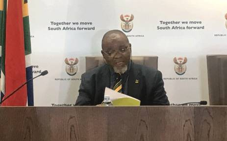 Mineral Resources Minister Gwede Mantashe. Picture: EWN