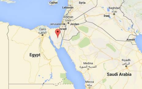 FILE: Egypt's Sinai Peninsula. Picture: Screengrab via Google maps.