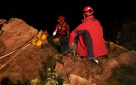 Woman falls to her death off Northcliff Hill. Picture: Netcare 911.