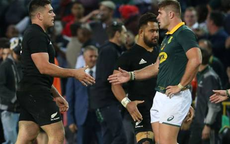 New Zealand beat South Africa 25-24 in rugby thriller at Newlands, retaining their Rugby Championship title. Picture: Twitter