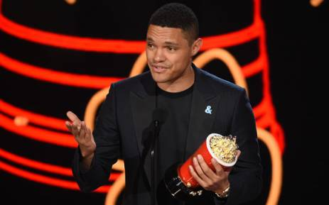 FILE: Trevor Noah accepts best host for 'The Daily Show' onstage during the 2017 MTV Movie And TV Awards on 7 May 2017 in Los Angeles, California. Picture: AFP.