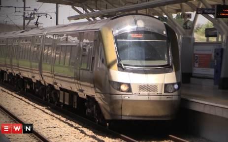 Gautrain train at Midrand station. Picture: Kgothatso Mogale/EWN