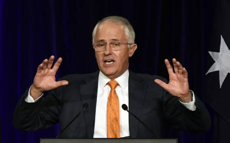 """""""What a day for love, for equality, for respect,"""" says Malcolm Turnbull. Picture: AFP."""