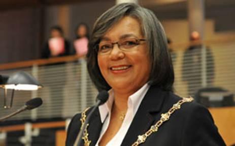 Cape Town Mayor Patricia de Lille. Picture: www.capetown.gov.za