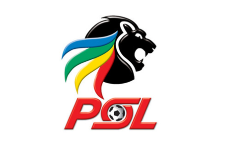 The home team took the lead Robert Ngambi early in the first half as he chested the ball into the net. Picture: PSL.